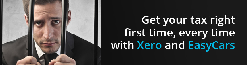 Get your tax right, first time, every time with Xero and EasyCars