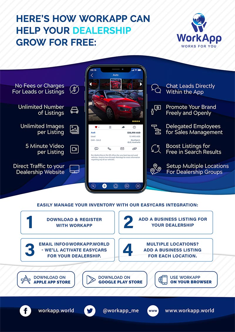 Car Advertiser - Work App