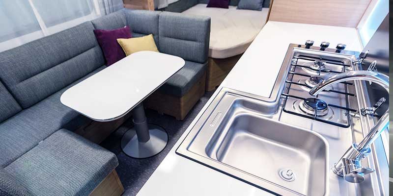 Caravan Kitchenette