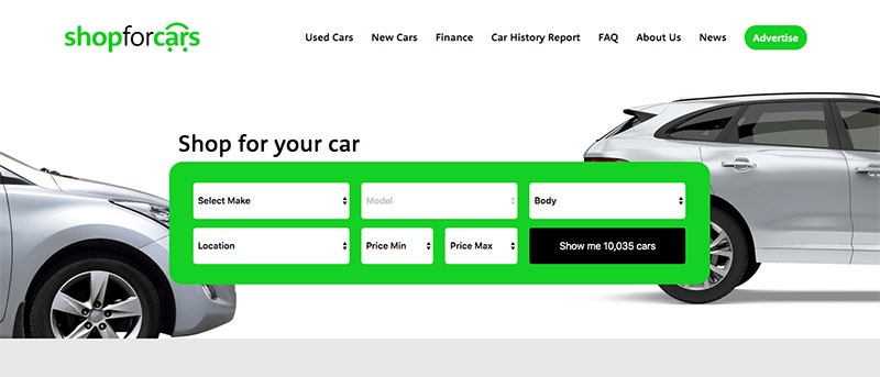 Shop for cars - new and used cars for sale